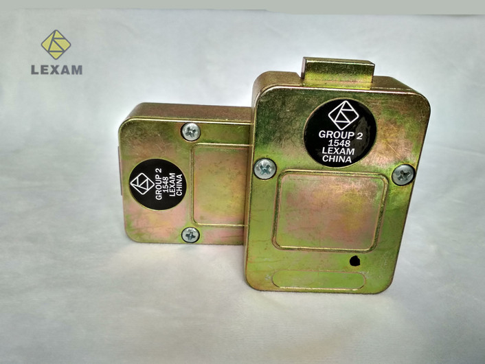 Zamak Material Replacement Safe Lock 44*44*8cm Against Unauthorized Opening