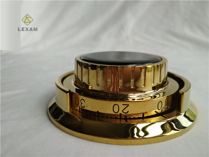 Gold Paint Combination Lock Dial  Integral Relock Trigger Radiation Resistance