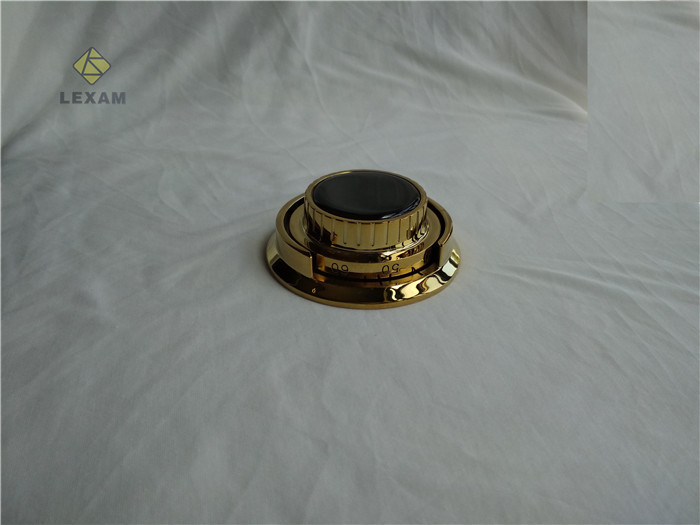 Brass Plated Safe Lock Dial Fits UL Listed Group 2 Combination Lock For ATM